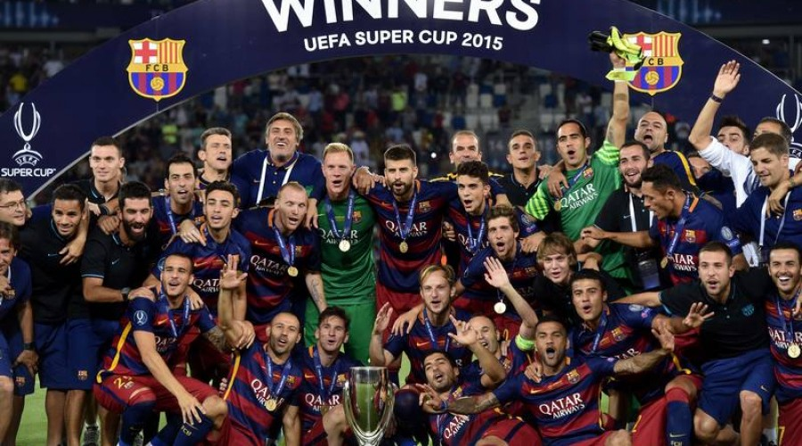 El Barcelona conquista la Supercopa de Europa con Pedro como protagonista