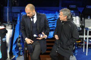Pep Guardiola y Jose Mourinho se encontrarán ahora en la Premier