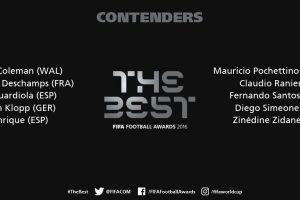 Los finalistas a mejor entrenador de 2016