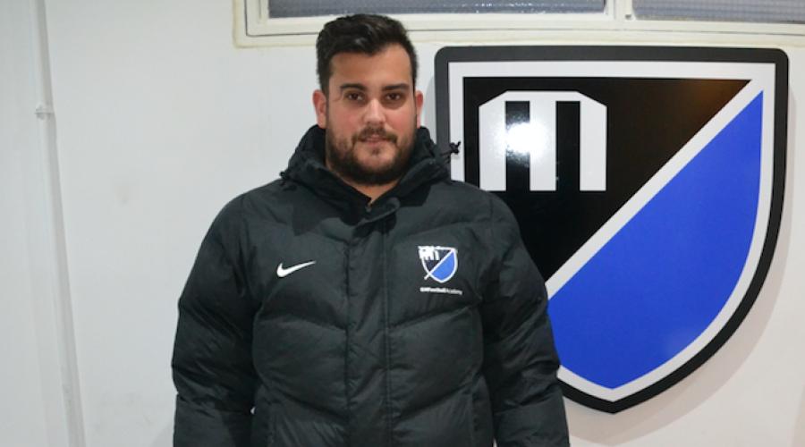 Miguel Sánchez, alumno de GM Football Academy