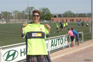 Maribel Melenchón ganó la camiseta del Elche