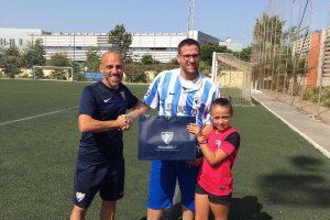 Ya hay ganador de la camiseta del Málaga