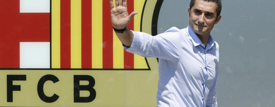 Ernesto Valverde, nuevo técnico del Bacelona
