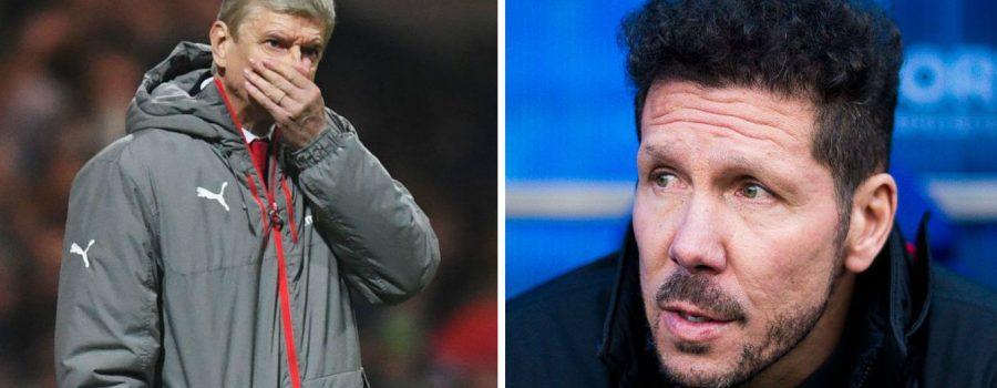 Wenger y Simeone