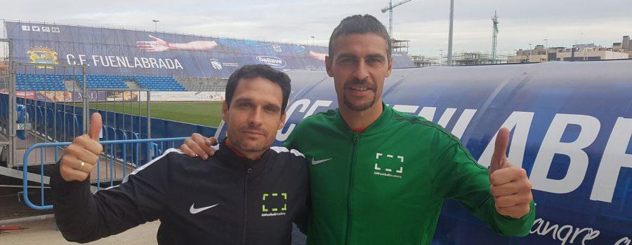 Rubén Anuarbe y Manolo Rubio