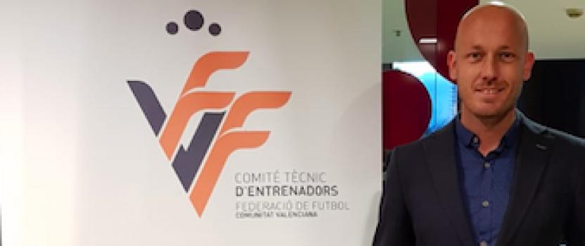 Pepe Hurtado premiado por la Federación de fútbol de Valencia