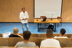 Estebaranz, Misis y Josele brillaron en el inicio del curso de director deportivo