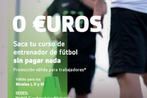 ¡Desbordados por los cursos de entrenador a cero euros!