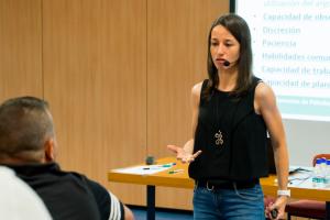 Isa García Carrión será la encargada de finalizar el curso de director deportivo