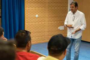 Quique Estebaranz impartirá  la ponencia de escuelas deportivas